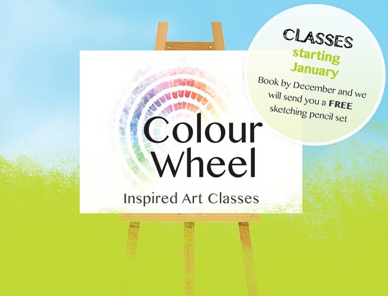 Colourwheel Art Classes Creative Art Classes For Adults