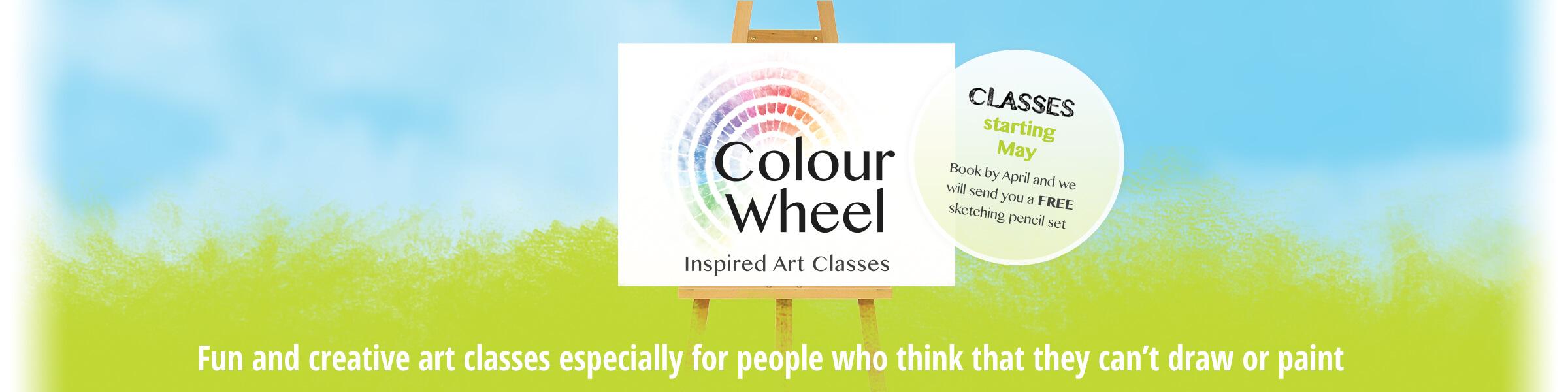 Art Classes In Sonning Inspired Art Classes Colourwheel Art